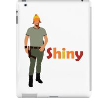 Jayne - Shiny in a cunning hat iPad Case/Skin