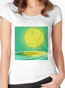 Love eco Women's Fitted Scoop T-Shirt