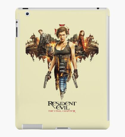 Resident Evil The Final Chapter iPad Case/Skin