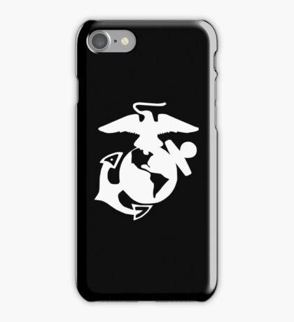 United States Marine Corps, USMC, Eagle, Anchor, Globe, EGA, Inverted iPhone Case/Skin
