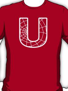 Spiderman U letter T-Shirt