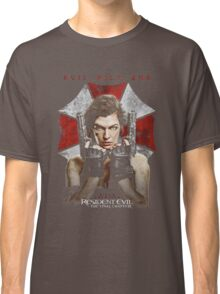 Resident Evil The Final Chapter evil will end Classic T-Shirt