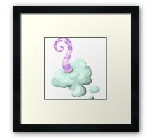 Glitch miscellaneousness mental inkling Framed Print
