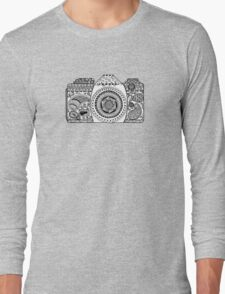 Camera Doodle  Long Sleeve T-Shirt