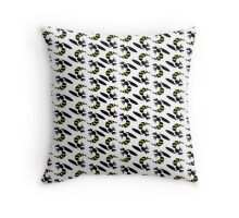 Yellow Jacket Insect Print Throw Pillow