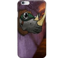 Tonight We Dine On Rhino Soup - Teenage Mutant Ninja Turtles - Rocksteady iPhone Case/Skin