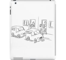 Crumpling service iPad Case/Skin