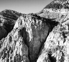 Aerial View of Sandia Peaks by dearmoon