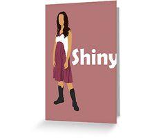 River Tam - Shiny (light) Greeting Card