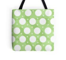 Polka Dots (Green) Tote Bag
