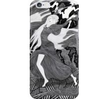 Woman with a flag II (Ships) iPhone Case/Skin