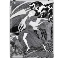 Woman with a flag II (Ships) iPad Case/Skin