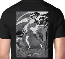 Woman with a flag II (Ships) Unisex T-Shirt