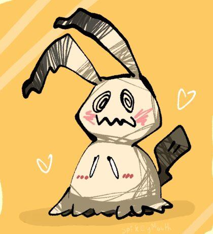 Mimikyu - Pokemon Sticker