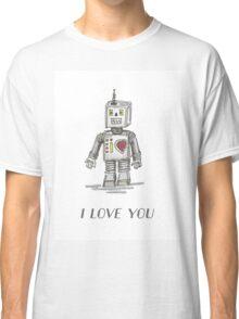 Valentine's Designs: Robot-I Love You Classic T-Shirt
