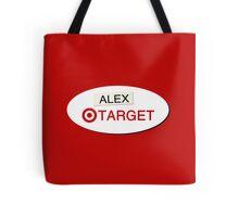 Alex From Target Badge Tote Bag