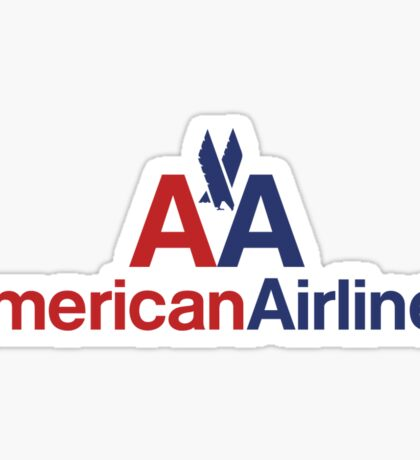 American Airlines Sticker Sticker