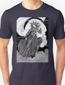 Woman with a flag  T-Shirt