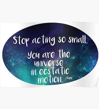 Rumi Ecstatic Motion Poster
