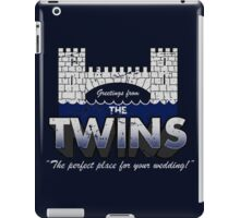 Greetings from The Twins iPad Case/Skin