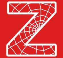 Spiderman Z letter One Piece - Short Sleeve