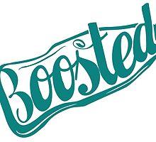 2 Litre Boosted Popbottle - SEAFOAM TEAL BLUE by FortyNinjaFISH