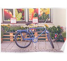 Market Bicycle Poster