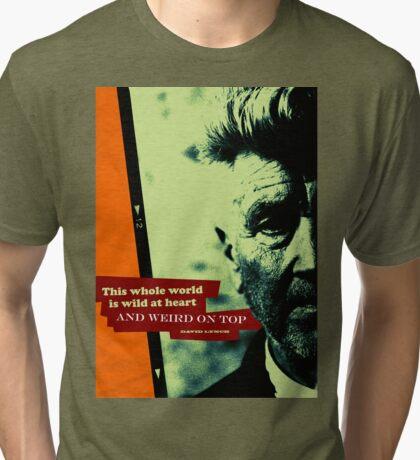 David Lynch Inspirational Quote 2 Tri-blend T-Shirt
