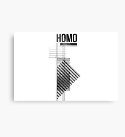 HOMO III Canvas Print