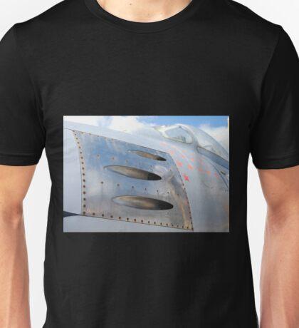 Gunports, North American F86 Sabre Unisex T-Shirt