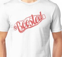 2 Litre Boosted Popbottle - DUSTED TOMATO RED Unisex T-Shirt