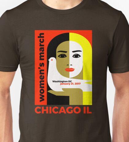 Women's March on Washington 2017, Chicago Illinois tshirt Unisex T-Shirt