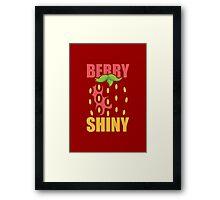 Berry Shiny Framed Print