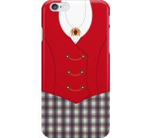 Gently with a chainsaw iPhone Case/Skin