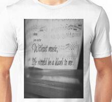 Jane Austen Music Unisex T-Shirt