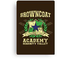 Browncoat Academy Canvas Print
