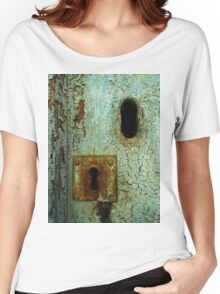 Keyhole Women's Relaxed Fit T-Shirt