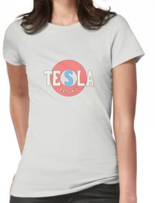 Tesla Deathrays  Womens Fitted T-Shirt
