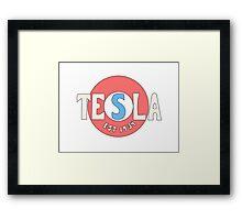 Tesla Deathrays  Framed Print