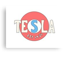 Tesla Deathrays  Canvas Print