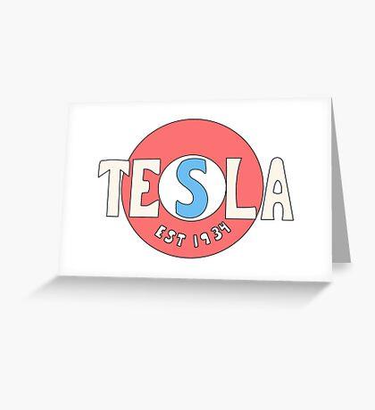 Tesla Deathrays  Greeting Card