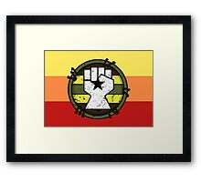 Browncoat Patch Framed Print