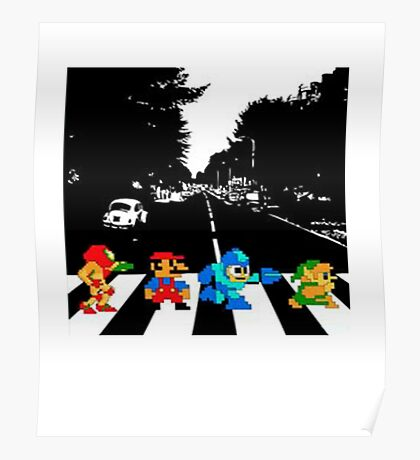 Nintendo Sprites Poster