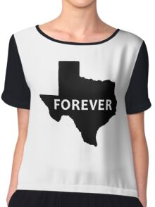 state of texas Chiffon Top