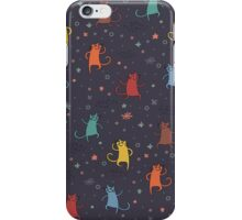 Dancing Cats. iPhone Case/Skin