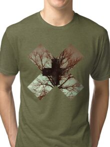 November cross Tri-blend T-Shirt