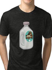 Glitch miscellaneousness milk platypus Tri-blend T-Shirt