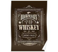 Browncoats Whiskey Poster