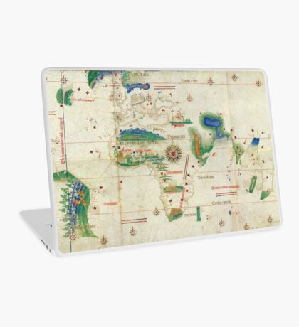 World Map 1502 Laptop Skin