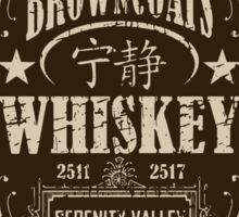 Browncoats Whiskey Sticker